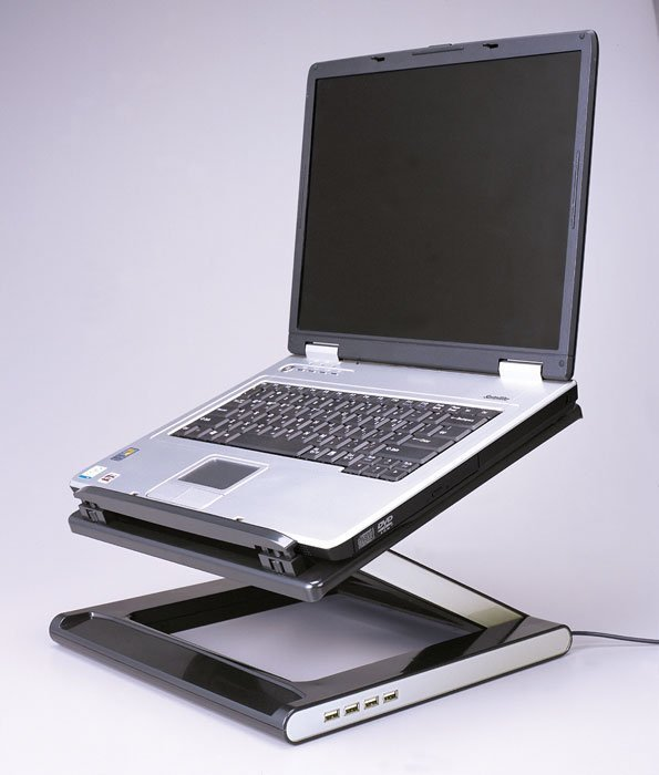 Z Lift Notebook Desk Stand